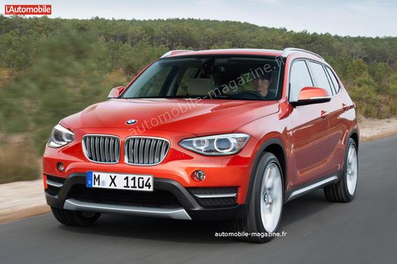 BMW X1 2015 года (фото и видео).