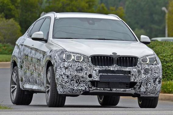 Новый BMW X6 2015 (фото, видео).