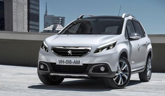 Обновленный Peugeot 2008 2015 (фото, видео).