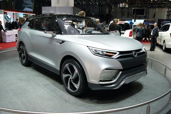 SsangYong XLV Concept на Женевском автосалоне.