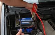 Зарядка аккумулятора автомобиля.